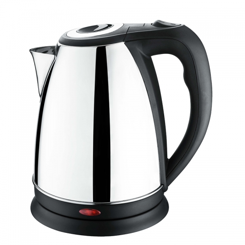 Faddish Stainless Steel electric kettle 360 degree cordless base auto shut off 1.7L capacity