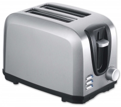 New arrival 2 Slice electric toaster stainless steel body electric toaster pop-up long slot toaster