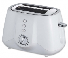 New arrival 2 Slice electric toaster plastic electric toaster pop-up long slot toaster