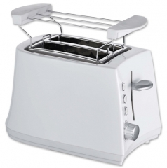 Household automatic electric 2 Slice hot sale plastic electric Pop-up long slot toaster