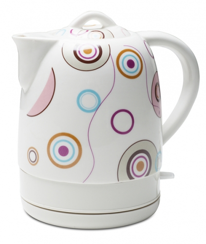 NEW Arrival fast cooling 1.5L electric ceramic kettle with classical design