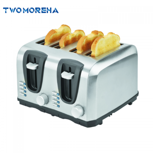 New arrival 4 Slice stainless steel electric toaster electric Pop-up long slot toaster