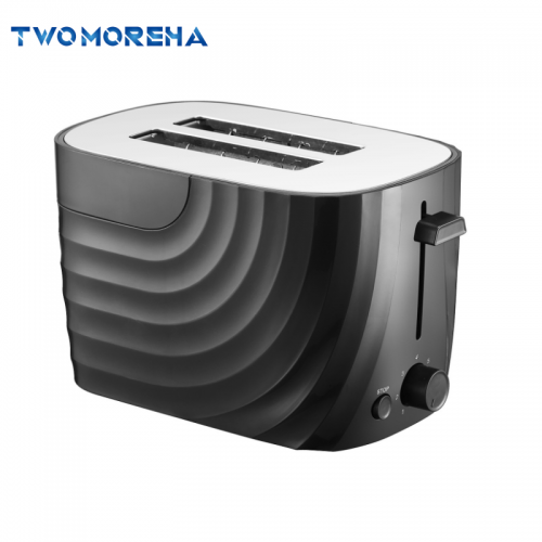2 slice S/S bread toaster auto- pop up wide slot electric toaster TM-861