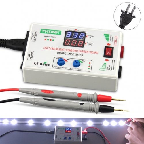 TKDMR TD3H LED TV Backlight Current Adjustable Constant Current Board Tester 0-300V