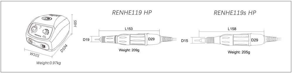renhe119 specifications