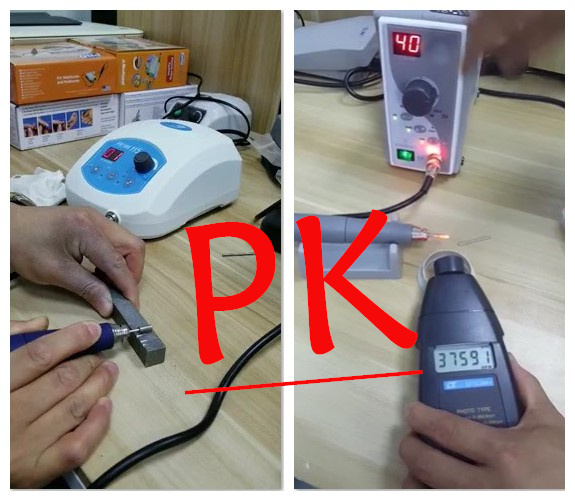 RHJC micromotor compare with korean micromotor