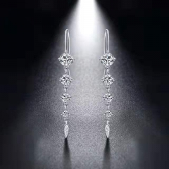 Korean fashion tasseled Earrings