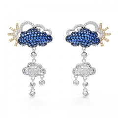 Korean version of hot selling cloud female ear studs