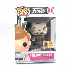 Funko Pop IT Pennywise Freddy Funko #SE Vinyl Figure