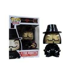 Funko Pop V For Vendetta Metallic #10 Vinyl Figure