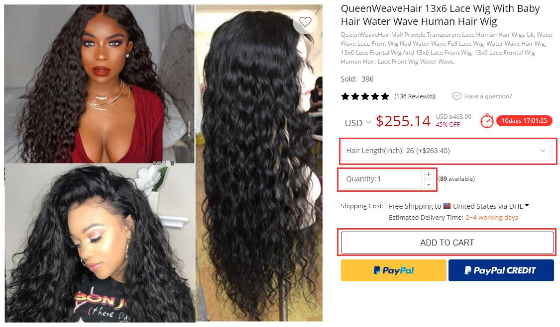 Queen Weave Hair How to Order