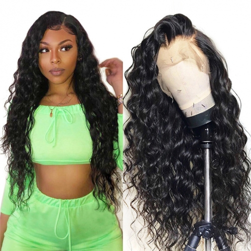 QueenWeaveHair Deep Wave Curly Hd Lace Front Wigs For Sale