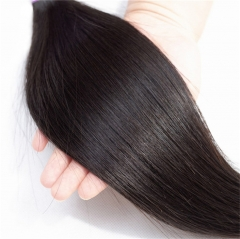 QueenWeaveHair 1 Bundle Brazilian Straight Human Hair Weave Hairstyles