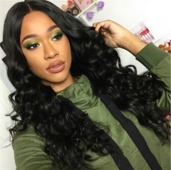QueenWeaveHair 3 Bundles Loose Deep Human Hair Weave Natural State