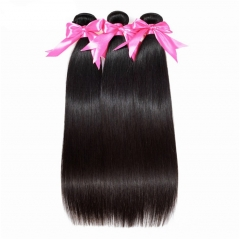 QueenWeaveHair 3 Bundles Human Hair Deals Straight Hair Bundles