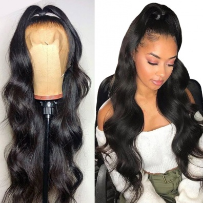 QueenWeaveHair 360 Lace Wig Body Wave Virgin Human Hair