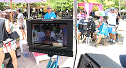 "TL-P700HD used in shooting ""Somnambulating Bali"""