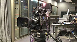 VF-701HDA with ARRI Camera in HUNAN TV for programs shooting