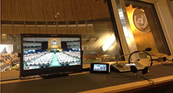 TL-S1850HD montiors are used for Simultaneous Interperetation monitoring in the United Nations
