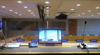 Ruige Monitors Are Engaged In The UN Headquarters Renovation Once Again
