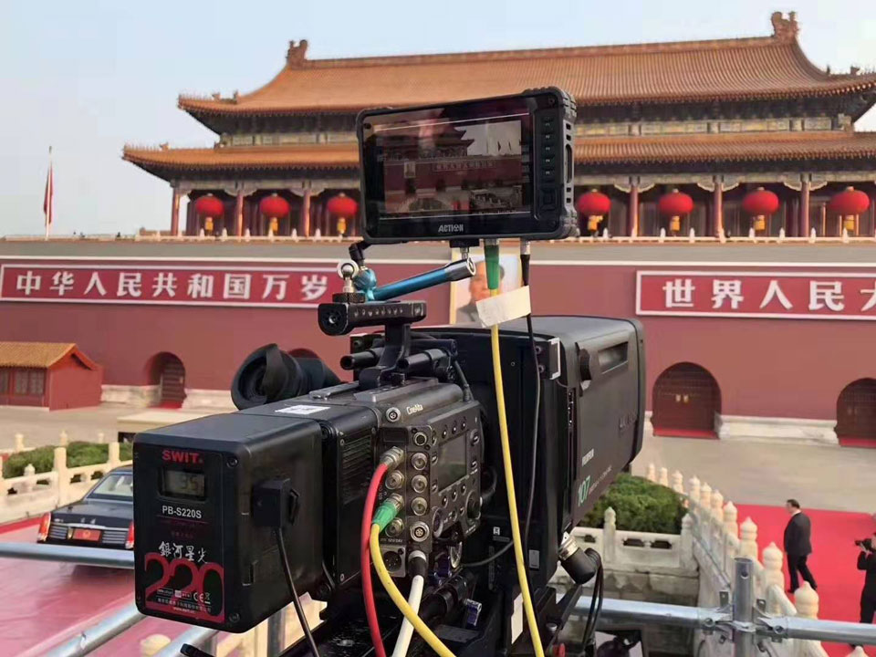 ACTION monitor's outstanding performance on the 70th anniversary of China's National Day