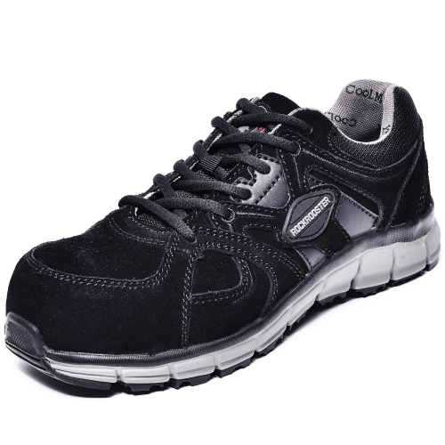 ROCKROOSTER Work Shoes for Women,Light Weight Alloy Toe,Non-Slip Rubber Sole,EH,Coolmax,Poron XRD,Fashion Casual Shoes,AS011