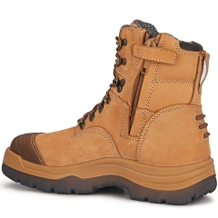 Ak232z Brown, Steel Toe