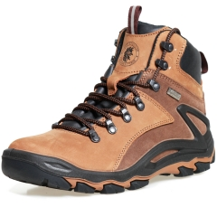 ROCKROOSTER Men's Hiking Boots, Waterproof 6'' Non-Slip Outdoor Shoes, Breathable, Lightweight, Anti-Fatigue, KS257