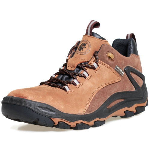 ROCKROOSTER Men's Hiking Shoes, Waterproof 4'' Non-Slip Outdoor Boots, Breathable, Lightweight, Anti-Fatigue, KS252