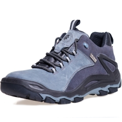 ROCKROOSTER Men's Hiking Shoes, Waterproof 4'' Non-Slip Outdoor Boots, Breathable, Lightweight, Anti-Fatigue, KS253