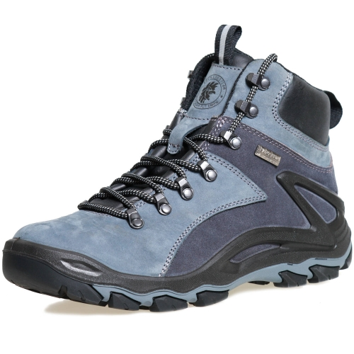 ROCKROOSTER Men's Hiking Boots, Waterproof 6'' Non-Slip Outdoor Shoes, Breathable, Lightweight, Anti-Fatigue, KS258
