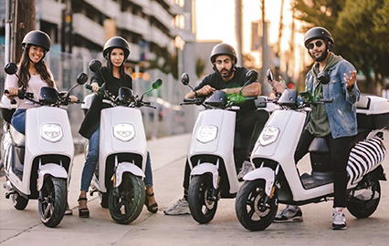 Electric Mopeds: Moto Sharing in Spain & Europe