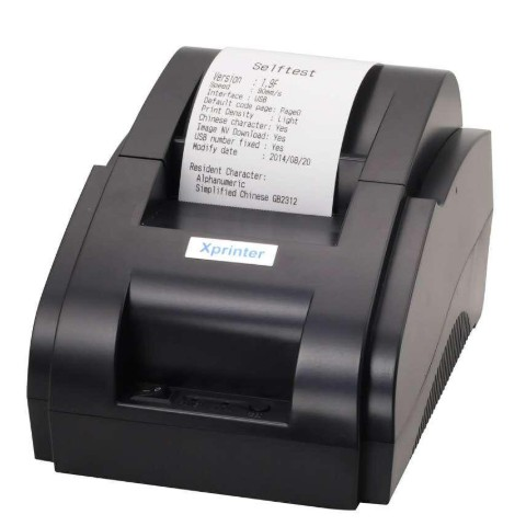 Receipt Printer 58mm Receipt POS Thermal Printer USB Port, Ticket Printer | LENVII LV-58IIH
