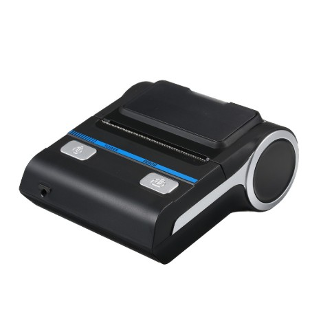 Bluetooth Receipt Printers Wireless Thermal Printer 80mm Compatible with Android/iOS/Windows System ESC/POS Print Commands |LENVII LV-P26