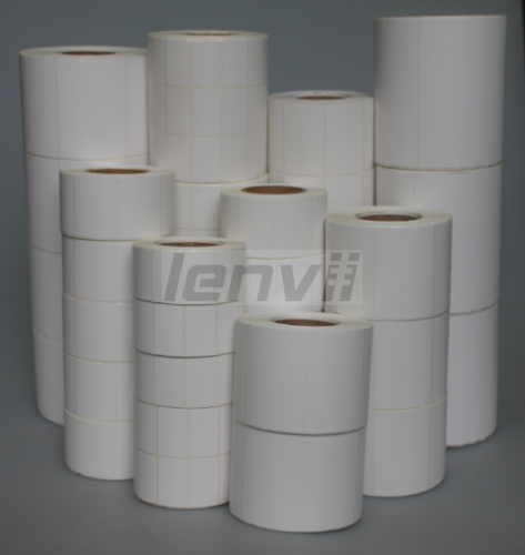 LENVII  Thermal Barcode Stickers, Thermal Barcode Lable, Three Proofings Thermal Lables,