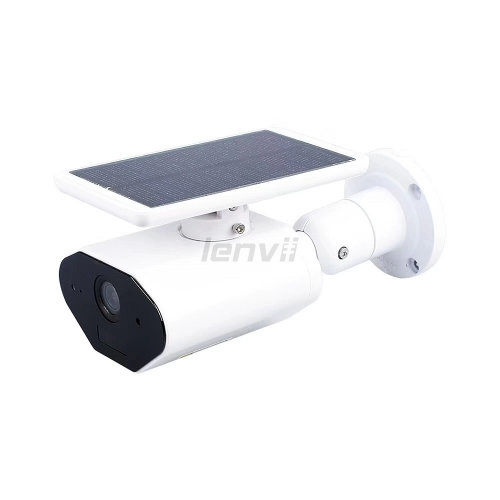 LENVII Solar Power WIFI IP 1080P Camera, Using 10 days to Charge, PIR Video, Wide Angle 104°, IP65 Waterproof, LV-CI380