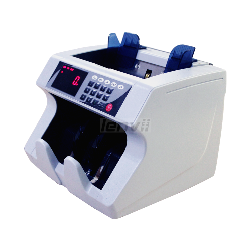 LENVII LV-BC2000 Bill Counter, Vertical Cash Counter, Check USD, Euro, Malaysian ringgit(MYR), RMB