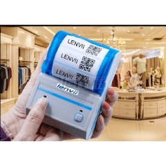 2in/58mm Portable  Barcode Label Printer USB and Bluetooth for Mobile phone IOS, Andriod, PC | LENVII P16L