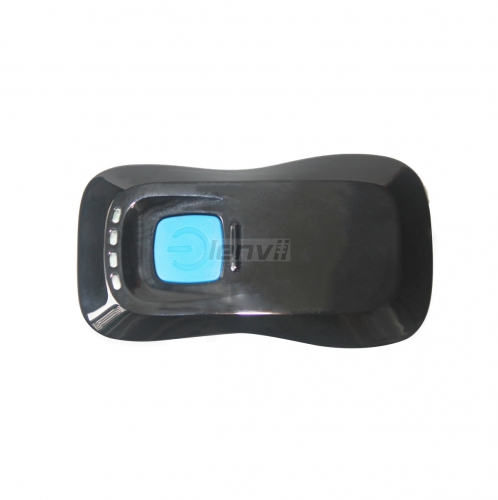 2D QR-code Image Portable Mini Barcode Scanner with 850ma Battey, 2.4G Wireless Bluetooth Barcode Scanner, Support Android, IOS, PC | LENVII H200