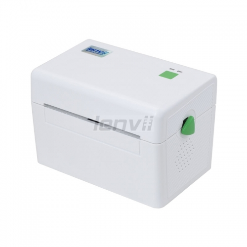 4in/110mm Thermal Barcode Lable Printer Bar code Surface machiner for Logistics 152mm/s | LENVII DT108B