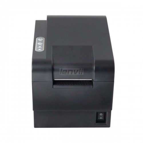 2in 58mm Thermal Barcode Label Printer, 90mm/s Print Speed, PC Connection, USB, | LENVII 235B