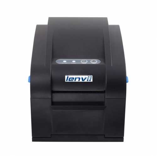 3in 80mm Thermal Barcode Label Printer External Power Supply, USB , No Need Ribbon, 152MM/S Print Speed | LENVII  350B