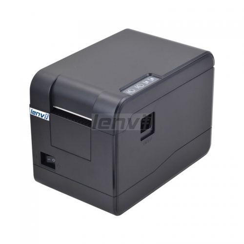 2in 58mm Thermal Barcode Label Printer, 101mm/s Print Speed, Pc Connection, USB, | LENVII 233B