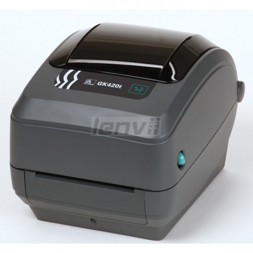 Zebra GK420t 4in/120mm Thermal Transfer Desktop Printer for Labels, Receipts, Barcodes, Tags, and Wrist Bands ,USB Port Connectivity
