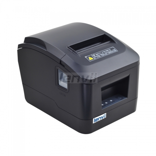 80mm Thermal Receipt Printer POS Printer with Auto Cutter 160 mm/s LENVII A160