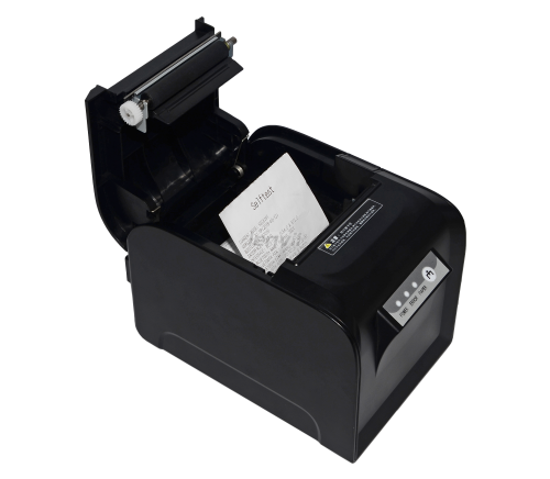 LENVII GP-D801 3in/80mm Desktop Receipt Printer Optional Bluetooth or Network Port