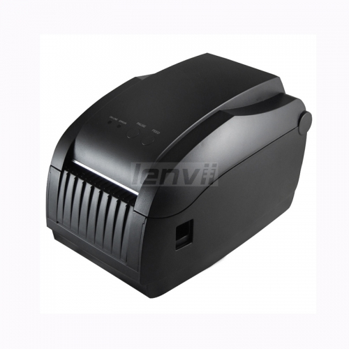 80mm/3in Thermal Label Printer USB+Ethernet Interface, Barcodes, Labels, High Speed Barcode Label Printers with Automatic Peeler LENVII  GP-3150TIN