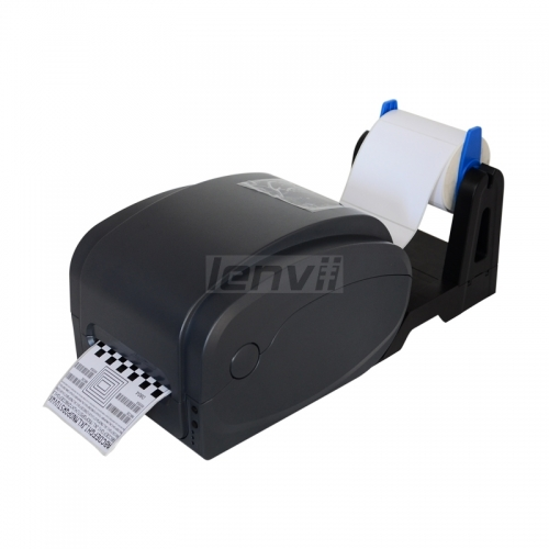 4in/110mm Thermal and Thermal Transfer Barcode Lable Printer with Paper Holder  | LENVII 1125T