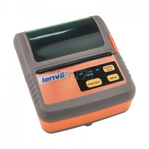 3in/80mm Portable Thermal Barcode Label and Receipt Printer USB and Bluetooth for IOS PAD PC Android | LENVII M322