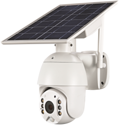 Solar WIFI/4G Intelligent PTZ Camera with Stand | LENVII S10